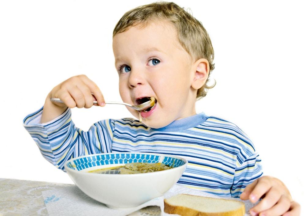 рацион питания для ребенка